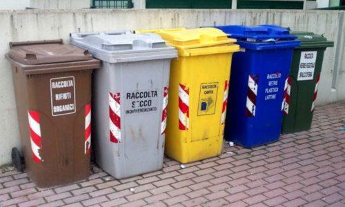 Sterilizzazione bidoni della spazzatura